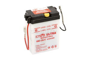 batteria 6N2-2A-4 Kyoto : 70mm x 47mm x 96mm