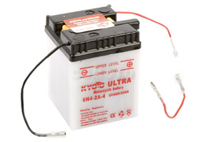 batteria 6N4-2A-4 Kyoto : 71mm x 71mm x 96mm