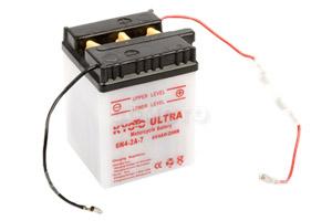 batteria 6N4-2A-7 Kyoto : 71mm x 71mm x 96mm