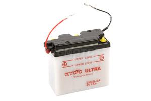 batteria 6N4B-2A Kyoto : 100mm x 47mm x 96mm