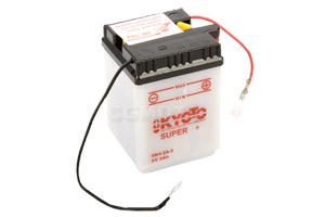 batteria 6N4-2A-5 Kyoto : 71mm x 71mm x 96mm