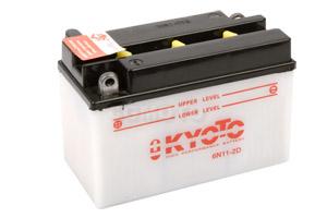 batteria 6N11-2D Kyoto : 150mm x 70mm x 100mm