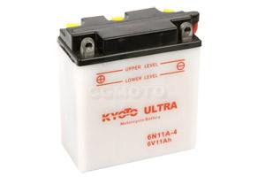 batteria 6N11A-4 Kyoto : 122mm x 62mm x 132mm