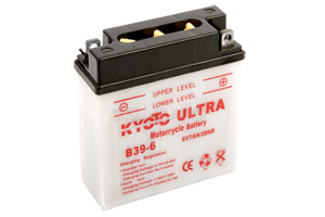 batteria B39-6 Kyoto : 126mm x 48mm x 126mm
