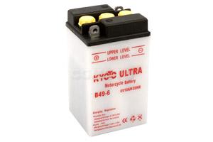 batteria B49-6 Kyoto : 91mm x 83mm x 161mm