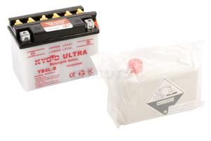 batteria YB4L-B Kyoto : 121mm x 71mm x 93mm