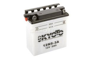 batteria 12N5-3A Kyoto : 121mm x 61mm x 131mm