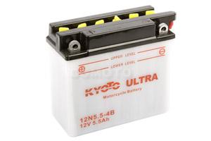 batteria 12N5.5-4B Kyoto : 138mm x 61mm x 131mm