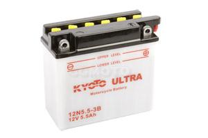 batteria 12N5.5-3B Kyoto : 138mm x 61mm x 131mm