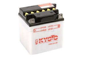 batteria 12N5.5A-3B Kyoto : 103mm x 90mm x 114mm