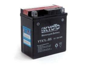 batteria YTX7L-BS Kyoto : 114mm x 71mm x 131mm