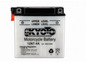 batteria 12N7-4A Kyoto : 137mm x 76mm x 134mm