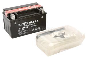 batteria YTX7A-BS Kyoto : 150mm x 87mm x 94mm