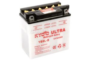 batteria YB9L-B Kyoto : 137mm x 76mm x 140mm
