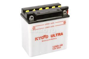 batteria 12N9-3B Kyoto : 137mm x 76mm x 140mm