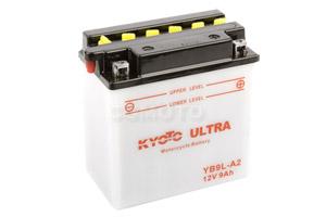 batteria YB9L-A2 Kyoto : 137mm x 76mm x 140mm