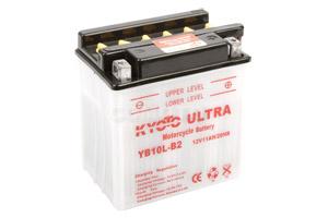 batteria YB10L-B2 Kyoto : 136mm x 91mm x 146mm