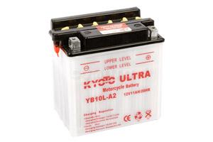 batteria YB10L-A2 Kyoto : 136mm x 91mm x 146mm