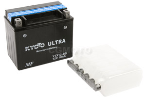 batteria YTX12-BS Kyoto : 150mm x 87mm x 131mm
