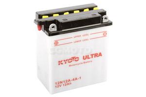 batteria 12N12A-4A-1 Kyoto : 135mm x 81mm x 161mm