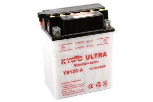 batteria YB12C-A Kyoto : 135mm x 81mm x 175mm