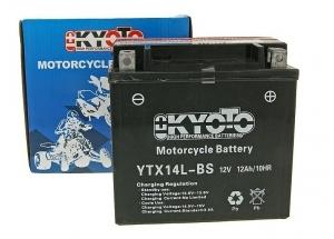 batteria YTX14L-BS Kyoto : 150mm x 87mm x 147mm