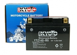 batteria YTZ14S-BS Kyoto : 150mm x 87mm x 110mm