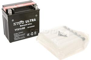 batteria YTX14-BS Kyoto : 150mm x 87mm x 147mm