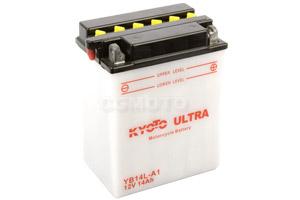 batteria YB14L-A1 Kyoto : 135mm x 91mm x 167mm