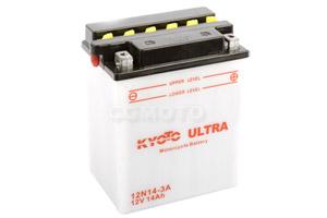 batteria 12N14-3A Kyoto : 135mm x 90mm x 167mm