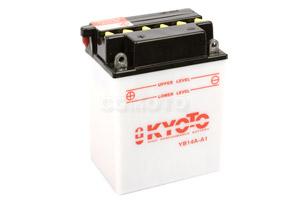 batteria YB14A-A1 Kyoto : 135mm x 91mm x 176mm