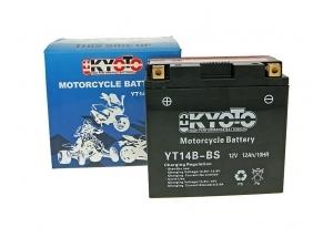 batteria YT14B-BS Kyoto : 150mm x 70mm x 145mm