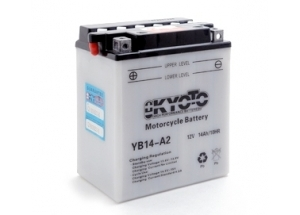 batteria YB14-A2 Kyoto : 135mm x 91mm x 167mm