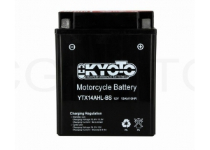 batteria YTX14AHL-BS Kyoto : 134mm x 89mm x 166mm