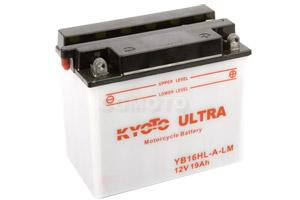batteria YB16HL-A-LM Kyoto : 176mm x 101mm x 156mm