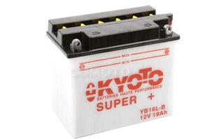 batteria YB16L-B Kyoto : 176mm x 101mm x 156mm