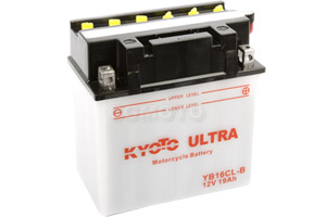 batteria YB16CL-B Kyoto : 175mm x 100mm x 175mm