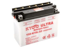 batteria Y50-N18L-A2 Kyoto : 206mm x 91mm x 164mm
