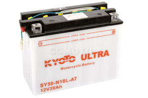batteria SY50-N18L-AT Kyoto : 206mm x 91mm x 164mm
