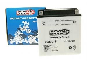 batteria YB30l-b Kyoto : 168mm x 132mm x 176mm