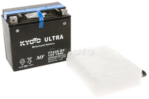 batteria YTX20-BS Kyoto : 175mm x 87mm x 155mm