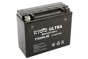 batteria YTX24HL-BS Kyoto : 205mm x 87mm x 162mm