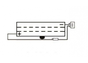batteria 6N2A-2C Yuasa : 70mm x 47mm x 106mm