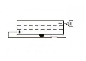 batteria 6N2A-2C-3 Yuasa : 70mm x 47mm x 106mm