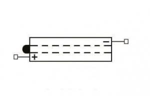 batteria 6N2-2A-4 Yuasa : 70mm x 47mm x 96mm