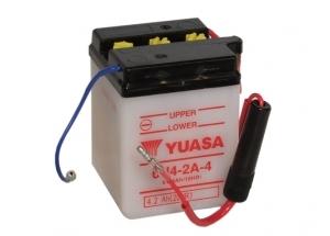 batteria 6n4-2a-4 Yuasa : 71mm x 71mm x 96mm