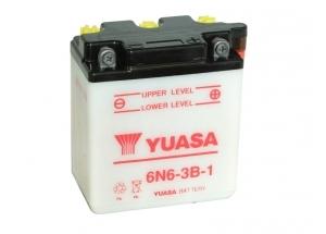 batteria 6n6-3b-1 Yuasa : 99mm x 57mm x 110mm