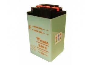 batteria B49-6 Yuasa : 91mm x 83mm x 161mm