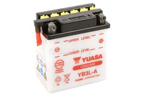 batteria YB3L-A Yuasa : 99mm x 57mm x 111mm