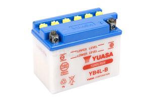 batteria YB4L-B Yuasa : 121mm x 71mm x 93mm